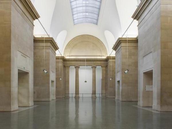 Museum white tiles