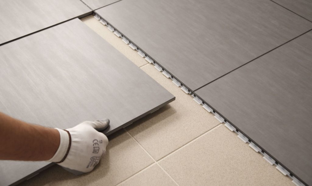 tiling floor diy