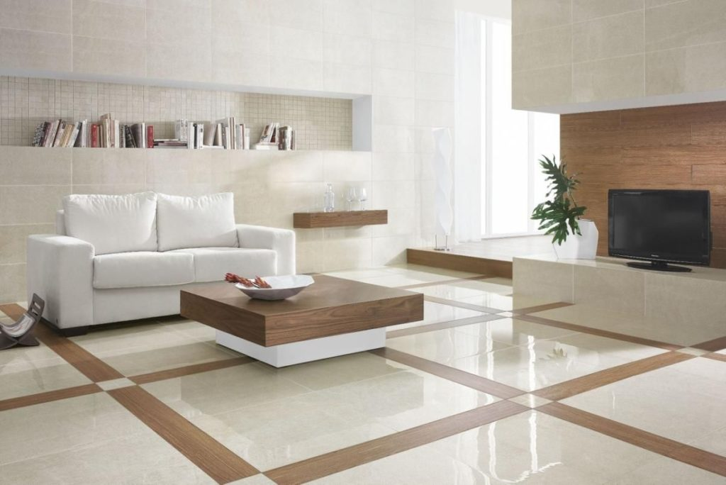 tiling living room